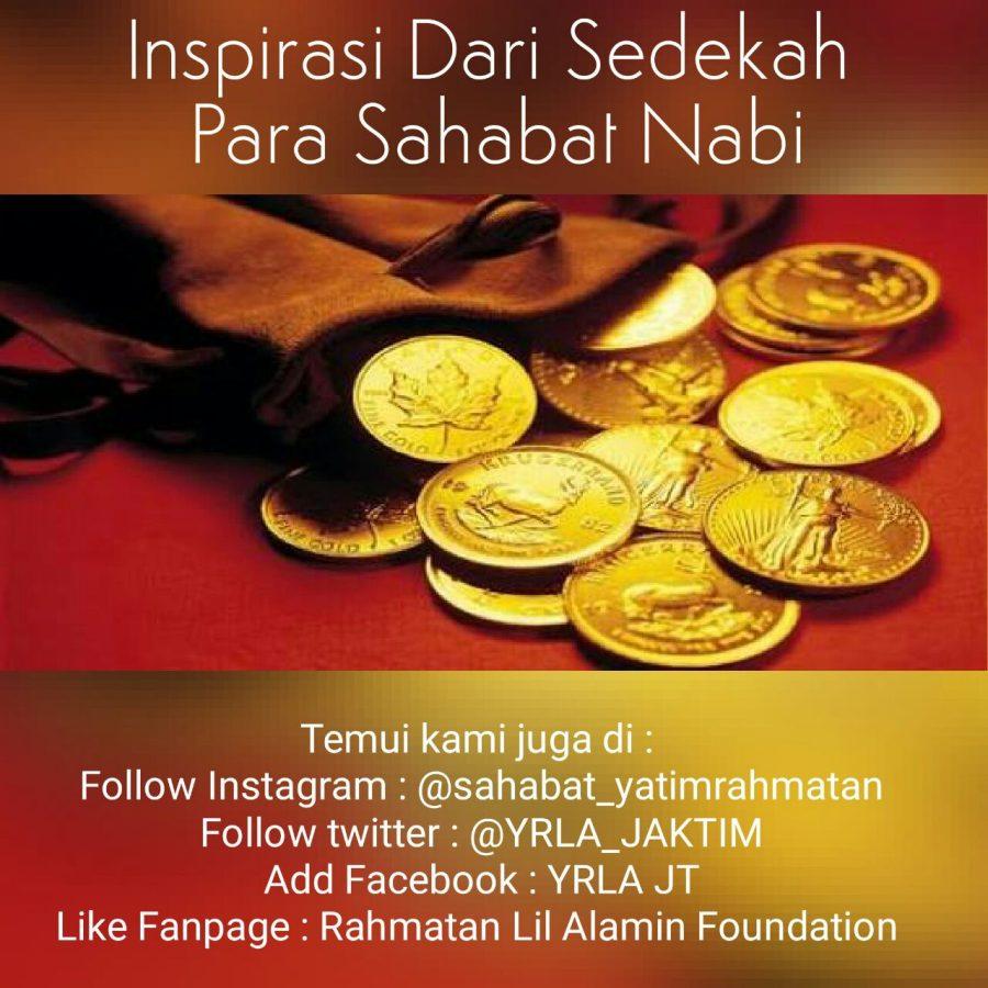 Inspirasi Dari Sedekah Para Sahabat Nabi