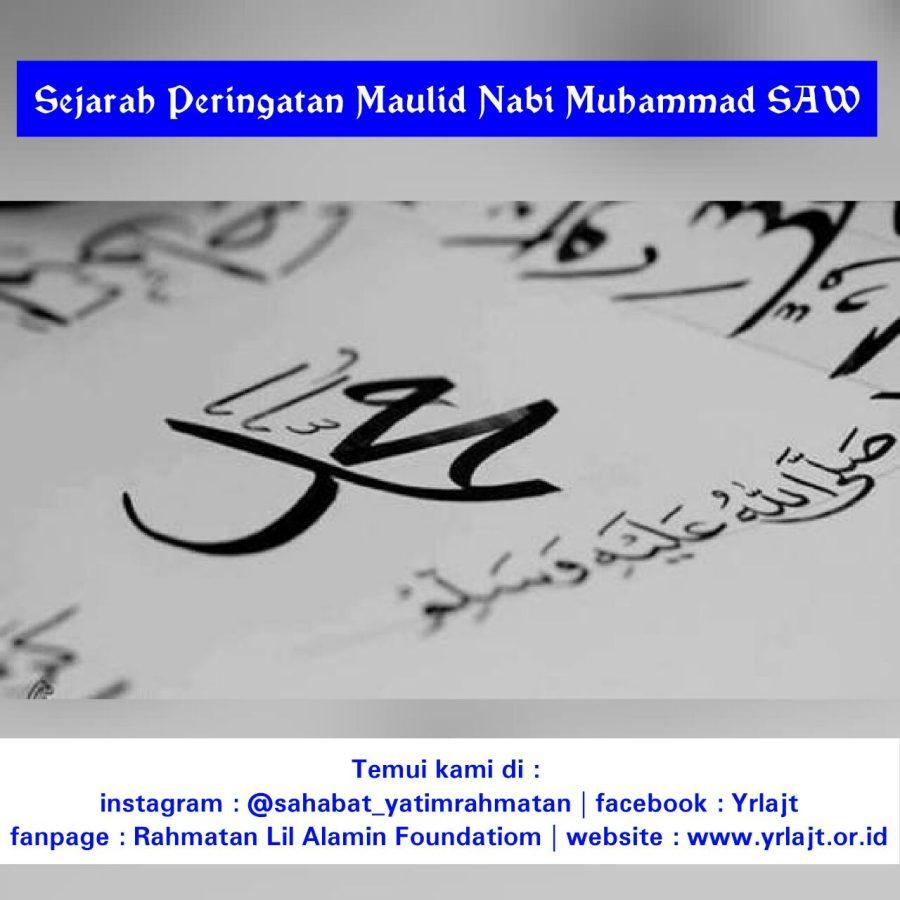 Asal Mula Adanya Peringatan Maulid Nabi Besar Muhammad SAW
