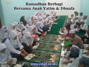 Ramadhan Berbagi Bersama Anak Yatim & Kaum Dhuafa YRLA