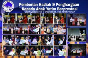 Pemberian Hadiah & Penghargaan Kepada Anak Yatim Berprestasi Yayasan Rahmatan Lil Alamin Jakarta Timur