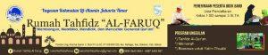 Rumah Tahfidz Al-Faruq Yayasan Rahmatan Lil Alamin Jakarta Timur