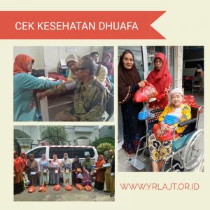 Cek Kesehatan Dhuafa Jakarta di YRLA