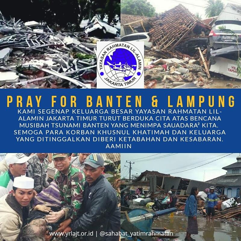 Pray For Tsunami Banten & Lampung
