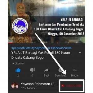 YRLA-JT Berbagi, Peduli 130 Dhuafa Cabang Bogor