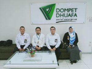 Kunjungan Pengurus YRLA Ke Dompet Dhuafa