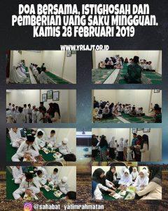 YRLAJT // Doa Bersama dan Istighosah di Asrama Yatim