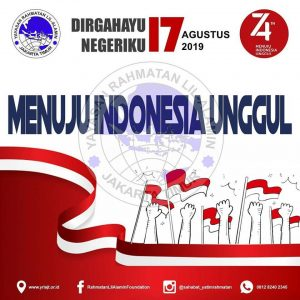 Dirgahayu Indonesia Ku 74th