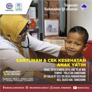 Baksos dan Cek Kesehatan Di Rajeg Tangerang