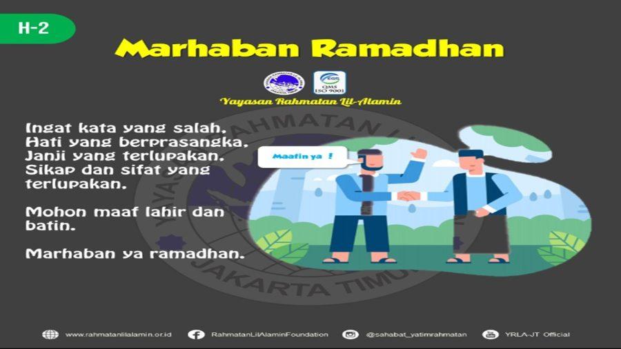 Menyambut Bulan Ramadhan Dengan Penuh Optimis