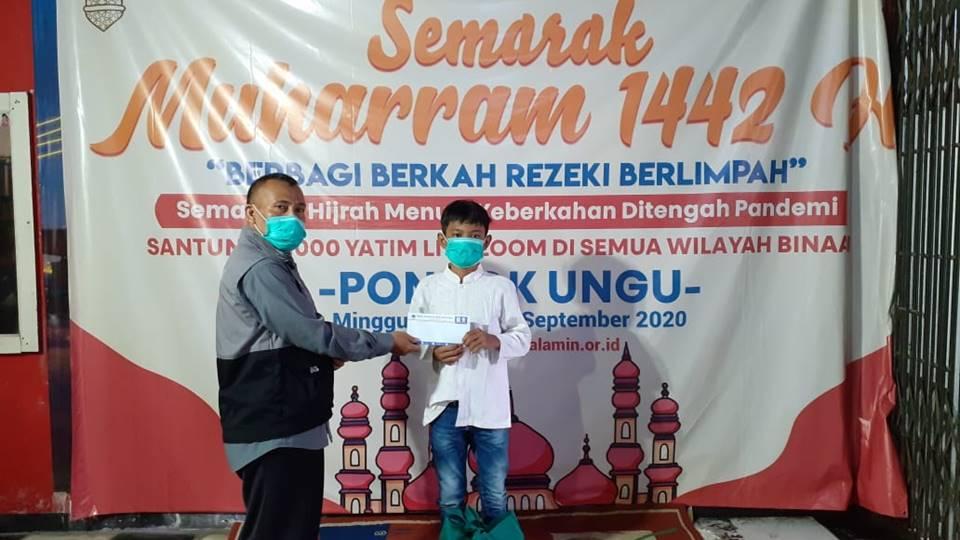 Menyantuni Anak Yatim di Saat Pandemi