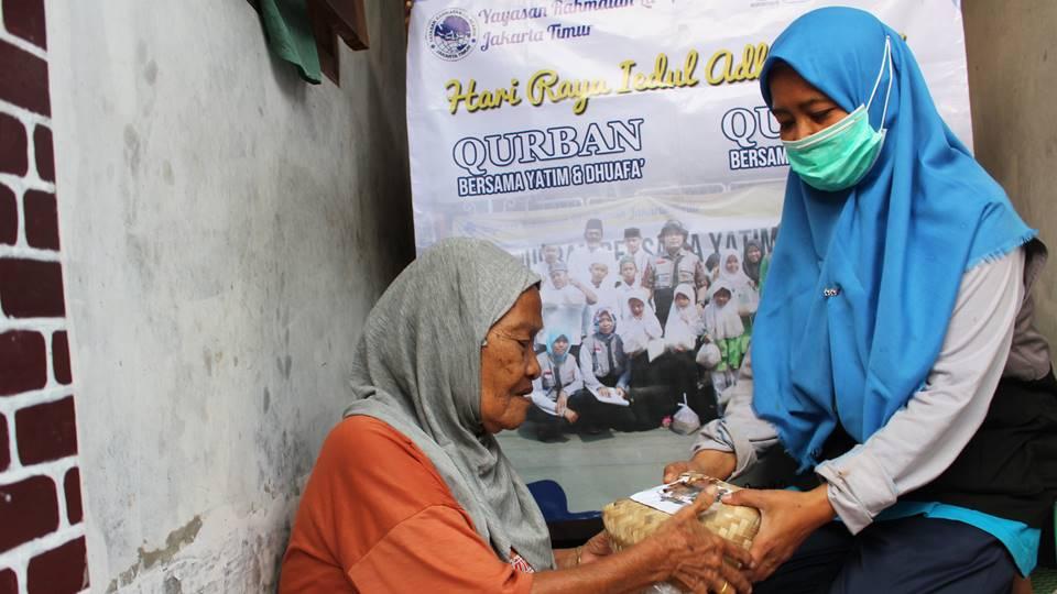 Qurban bersama yatim dan dhuafa