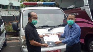 Bantuan Hibah Mobil Ambulandari Kementrian Luar Negeri