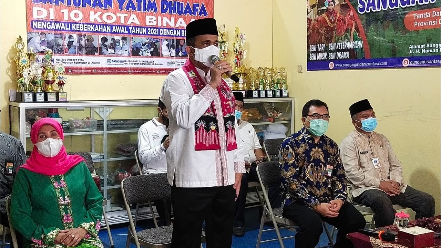 Safari Jum'at, Walikota Anwar Siap Bantu Yayasan Rahmatan Lil Alamin