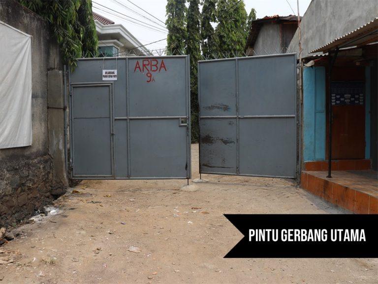 Pintu Gerbang Utama - Asrama Yatim Terpadu