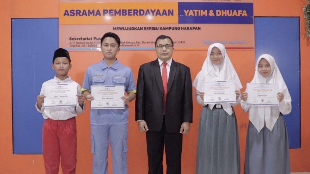 Beasiswa Pendidikan Yatim dan Dhuafa'